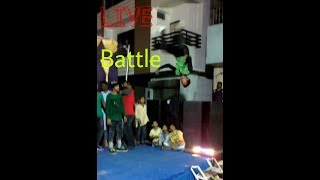 Best Battle of India and parkour b boy style