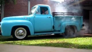 Burnout Ford F100 Y-Block 272
