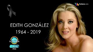 Muere Edith González a los 54 años | Fuiste y seguirás siendo una guerrera. QEPD