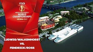 Ludwig/Walkenhorst (GER)/ Fendrick/Ross (USA) - FIVB Beach Volley World Champs