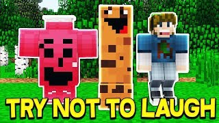 PEWDIEPIE TRY NOT TO LAUGH CHALLENGE... WITH MOOSECRAFT, UNSPEAKABLEGAMING, AND 09SHARKBOY!