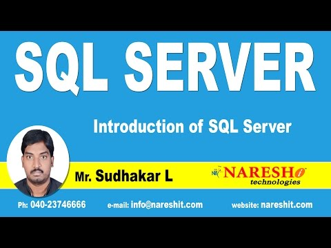 Introduction of SQL Server | SQL Server Tutorial