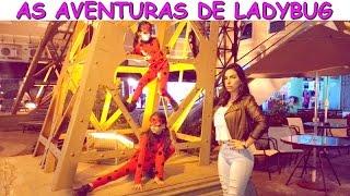 TEATRINHO MIRACULOUS - AS AVENTURAS DE LADYBUG