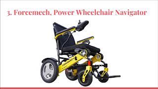 Top 10 Best Electric Wheelchairs 2018 - DtopList
