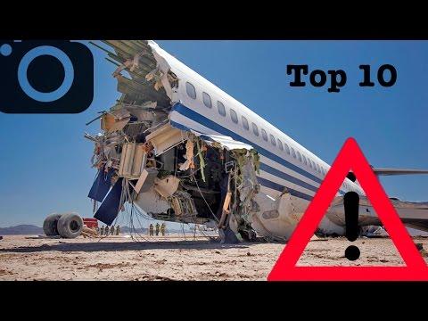 Top 10 MOST dangerous Airlines!