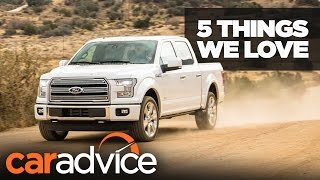 5 things we love about the 2017 Ford F-150 | A CarAdvice Feature