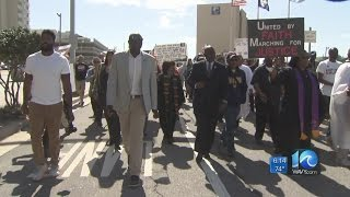 Hampton Roads residents march for solidarity