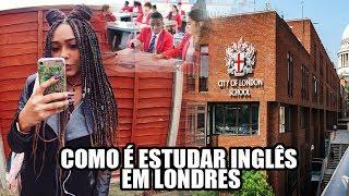 MINHA ROTINA ESCOLAR EM LONDRES