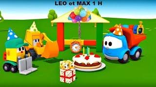 Compilation 1H: Max, Léo le camion et véhicules d