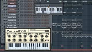 FL Studio 11 | How to: Basic R&B Beat