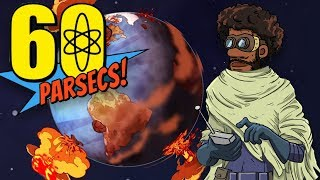 THE ENDING YOU GET WHEN YOU ONLY BRING ONE PERSON INTO SPACE | 60 Parsecs Game [3]