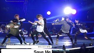 방탄소년단 BTS[4K직캠]Save Me@20160930 Rock Music