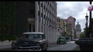 De nuevo en Cuba concurso y caravana de autos clásicos