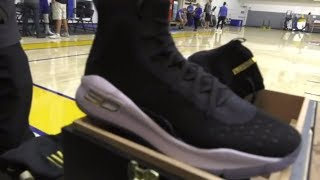 Unboxing the Stephen Curry 4 More Rings Championship Pack | ESPN