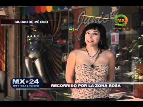 Paseo por la ZONA ROSA del DF México