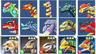 Dino Robot Corps Battlefield + Jurassic World: The Game #2 | Eftsei Gaming