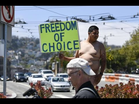 S.F. City Approved Nudist March!