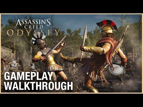 Assassin s Creed Odyssey E3 2018 Gameplay Walkthrough Ubisoft NA