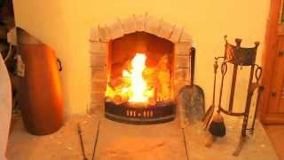 How To Build An Open Fire Indoors 1