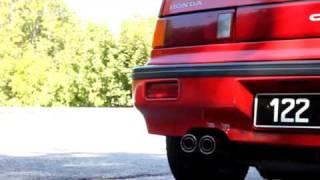 Honda Civic ED7 (D16 DOHC) HKS Sport Exhaust