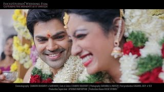 Actor Ganesh Venkatram & Nisha Krishnan - Fairytale Wedding