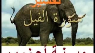 فيديو تفسير سورة الفيل بالدارجة مينة أحزرير