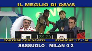 QSVS - I GOL DI SASSUOLO - MILAN 0-2  TELELOMBARDIA / TOP CALCIO 24