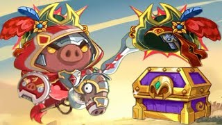 EVENT CHEST UNLOCKED ROLL FOR CLASS ELITE CAPT'N! | Angry Birds Epic
