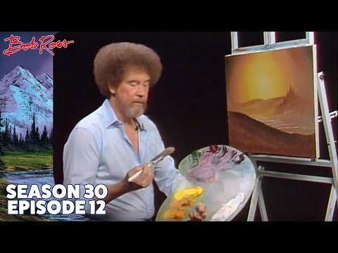 Bob Ross Evening s Glow Season 30 Episode 12
