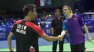 TOTAL BWF Thomas & Uber Cup Finals 2016 | Badminton Day 2/S2- Thomas Cup Grp C- MAL vs GER (Court 2)