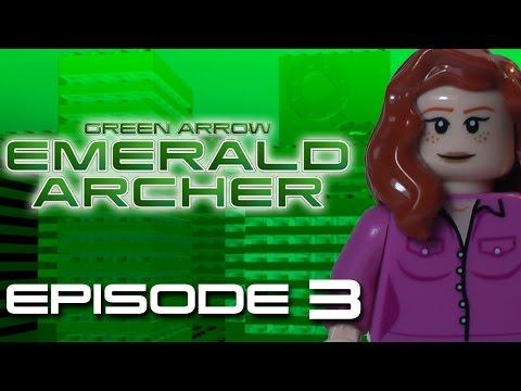 LEGO GREEN ARROW SERIES EMERALD ARCHER Episode 3 Cloak and Dinosaur Part 1 of 2