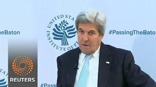 Kerry warns of