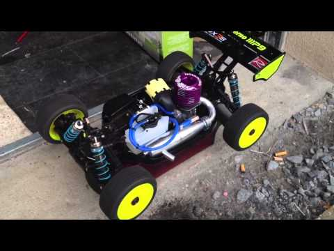 Rodage moteur novarossi P4