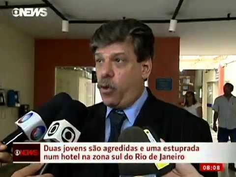 10 11 12 Jovem é estuprada dentro de hotel na Zona Sul do Rio GLOBO NEWS JORNAL GLOBO NEWS