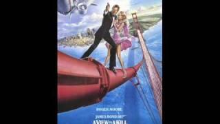 A View To A Kill by Duran Duran (14th James Bond 007 movie)