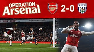 ARSENAL 2-0 WEST BROM - OPERATION ARSENAL