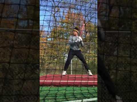Koby Bubash (hitting) 10-24-17