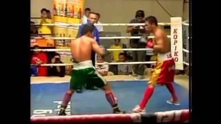 Arthur Villanueva vs Nikong Calamba Full Fight TKO