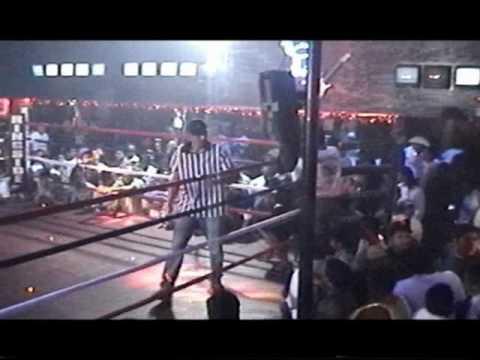 Boxeo El Sol Nightclub Birmingham Steve fight one