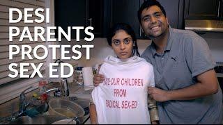 IST News - Desi Parents Protest Sex Education