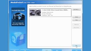 A quick look at MediaProSoft Free Video Joiner