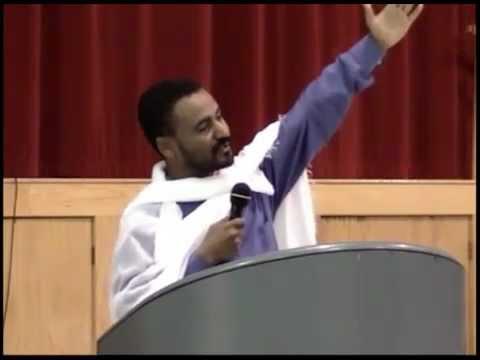 Ethiopian Orthodox Deacon Daniel Kibret sebket ፀሐይ ቆመ ጨረቃም ዘገየ Part 1 of 2