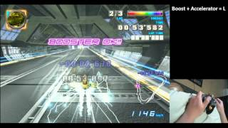 F-Zero GX: Green Plant Intersection Staff Ghost beaten with 1 hand