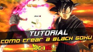 (Tutorial) - Como crear a BLACK GOKU (Sin mods: PS4, XBOX, PC) | XENOVERSE