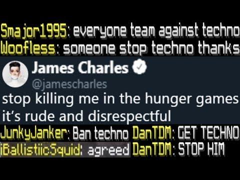 stabbing pewdiepie and james charles in minecraft