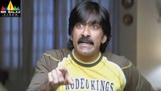 Krishna Movie Comedy Scenes Back to Back | Ravi Teja, Trisha, Brahmanandam | Sri Balaji Video