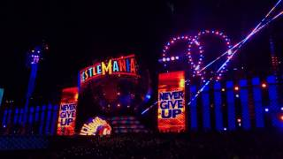 John Cena Entrance - Wrestlemania 33 - Orlando Florida - Camping World Stadium - 4/02/2017