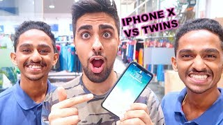 Twins Vs. iPhone X Face ID !!!