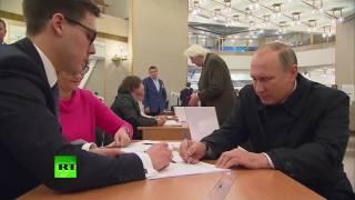 Putin casts vote in Russian State Duma election