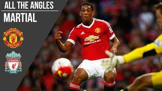 All the Angles: Martial v Liverpool (2015)